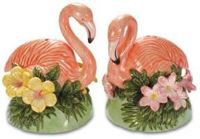 Pink Flamingo Figurines