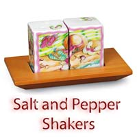 Salt and Pepper Shakers